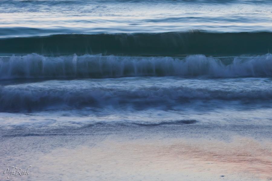"""""""Impressionistische"""" fotografie: licht en water in beweging."""