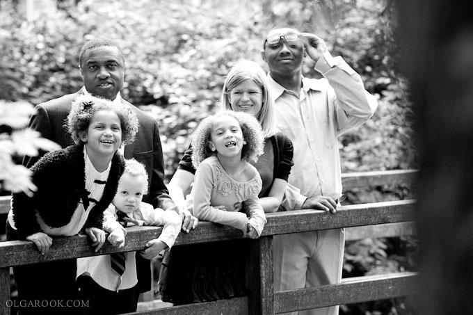 spontane en vrolijke gezinsreportage
