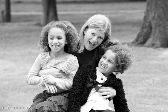 foto moeder met dochters