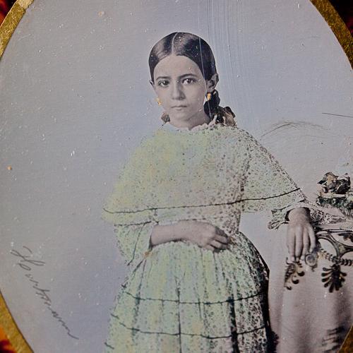 daguerreotipie-antiek-kinderportret-detail