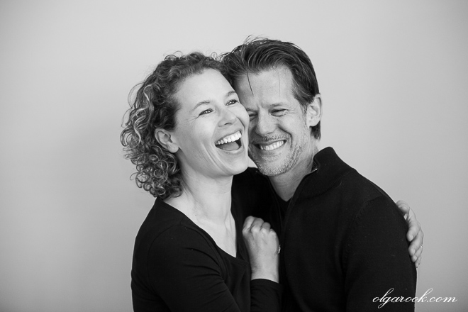 Portrait of a laughing couple