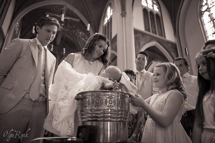 doopreportage: direct na het dopen