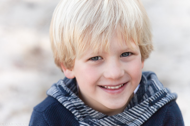 portret van een klein jongetje
