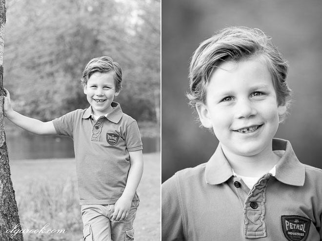 Foto's van een jongetje met lieve vriendelijke lach
