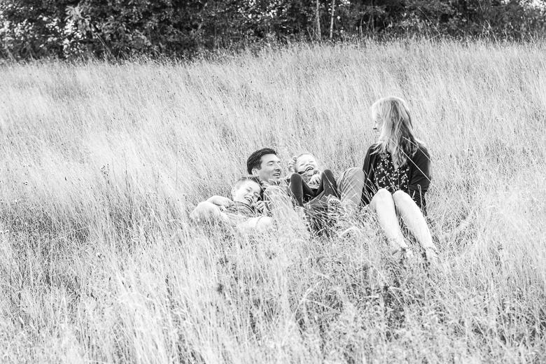 fun family photo session in Rockanje